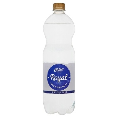 Carters Royal Slimline Tonic 1 x 1Ltr