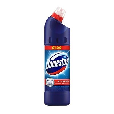 Domestos Regular Blue PM £1