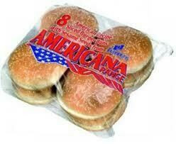 "Frozen 5"" Seeded Buns Pack of 8"