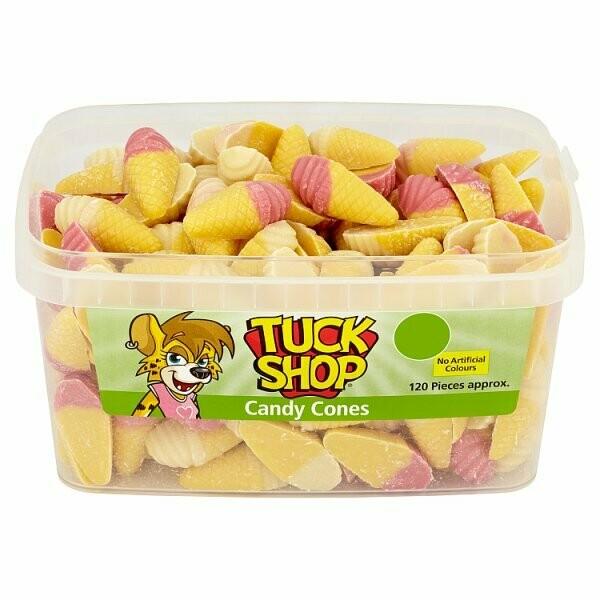 Tuck Shop Candy Cones 120 Pieces 660g