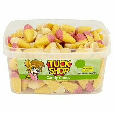 Tuck Shop Candy Cones 120 Pieces 660g