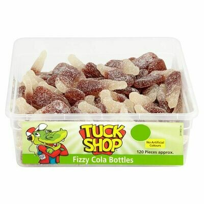 Tuck Shop Fizzy Cola Bottles 120 Pieces 864g