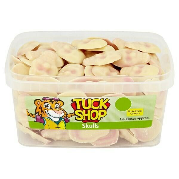 Tuck Shop Skulls 120 Pieces 720g