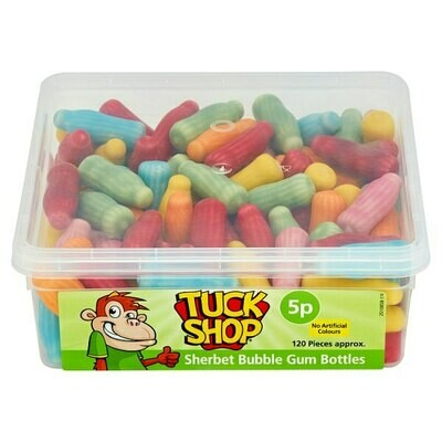 Tuck Shop Sherbet Bubble Gum Bottles 780g
