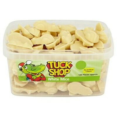Tuck Shop White Mice 120 Pieces 840g