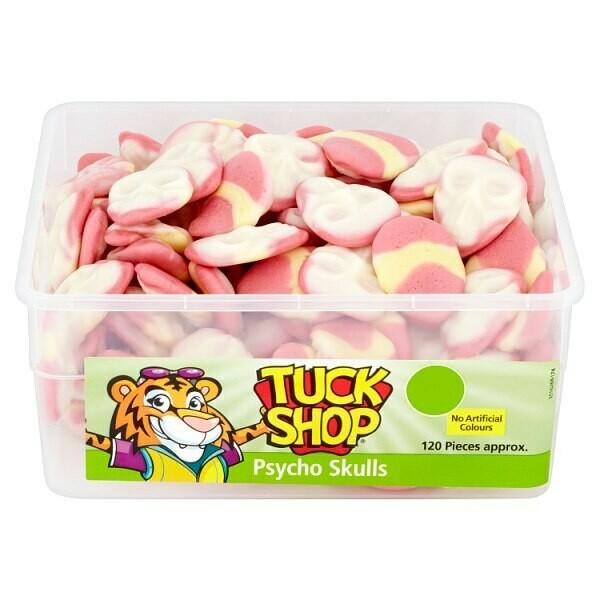 Tuck Shop Psycho Skulls 120 Pieces 840g