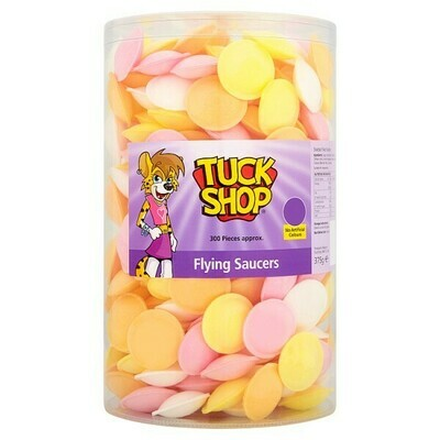 Tuck Shop Flying Saucers 375g
