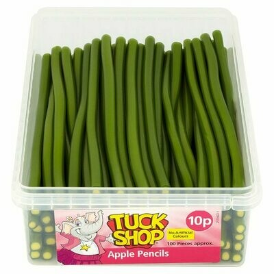 Tuck Shop Apple Pencils 100 Pieces 1.2kg