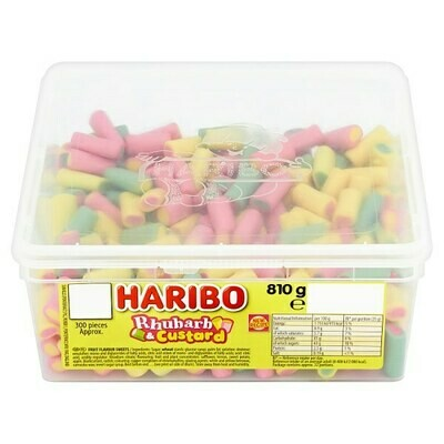 HARIBO Rhubarb & Custard 300 pieces 810g