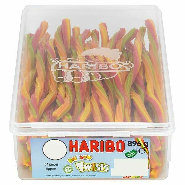 HARIBO Rainbow Twists 896g