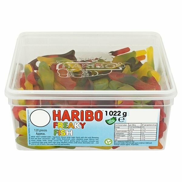 HARIBO Freaky Fish 1022g
