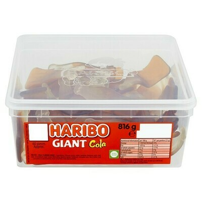 HARIBO Giant Cola 60 Pieces 816g