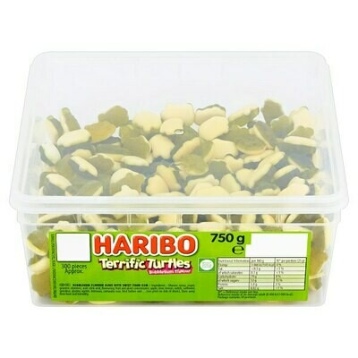 HARIBO Terrific Turtles 300 Pieces 750g