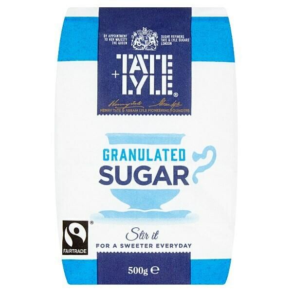 Tate & Lyle Fairtrade Granulated Sugar 500g