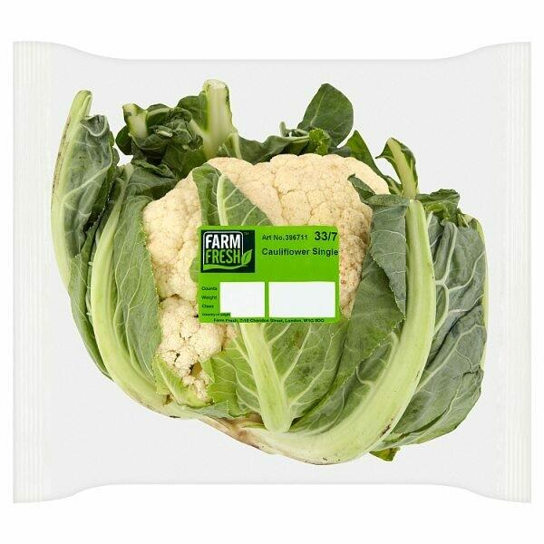 Farm Fresh Cauliflower Single