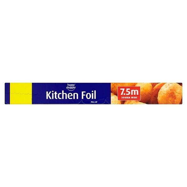 Happy Shopper Kitchen Foil 7.5m 300mm Wide