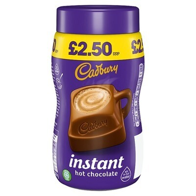 Cadbury Drinking Hot Chocolate £2.50 300g