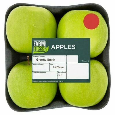 Farm Fresh Granny Smith Apples 1 x 4 Pack