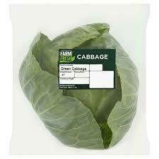 Farm Fresh Savoy Green Cabbage 1 x Single