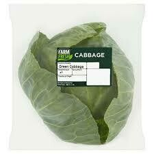 Farm Fresh Savoy Green Cabbage 1 x Single