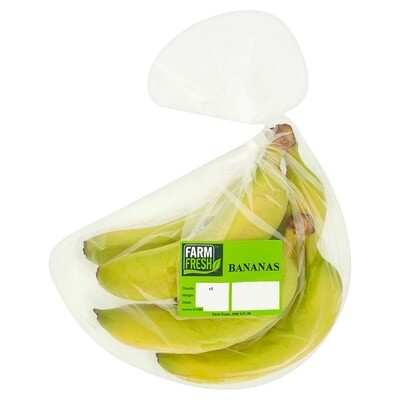 Farm Fresh Bananas 1 x 5 Pack