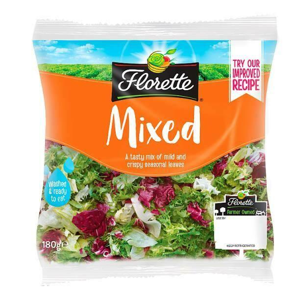 Florette Mixed Salad 1 x 180g
