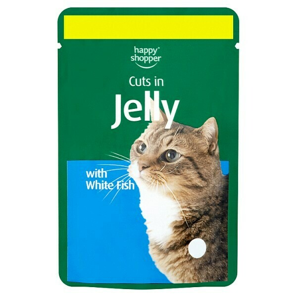 Happy Shopper Cuts in Jelly with White Fish 100g