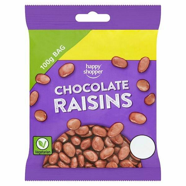 Happy Shopper Chocolate Raisins 100g