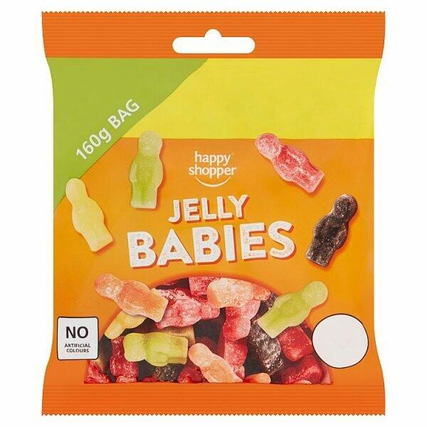 Happy Shopper Jelly Babies 160g
