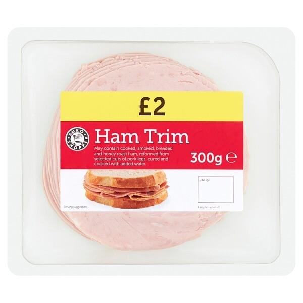 Euro Shopper Ham Trim 300g