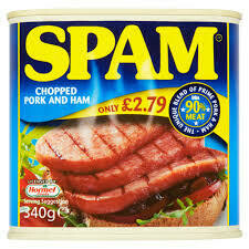 Spam Chopped Pork and Ham 200g PM £2.79