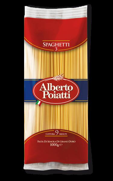 Spaghetti Pasta ALBRTO POIATTI  1 x 1 kilo