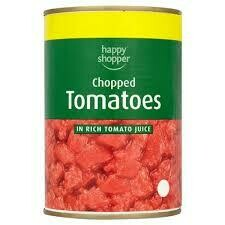 HS Chopped Tomatoes 1 x 400g PM59