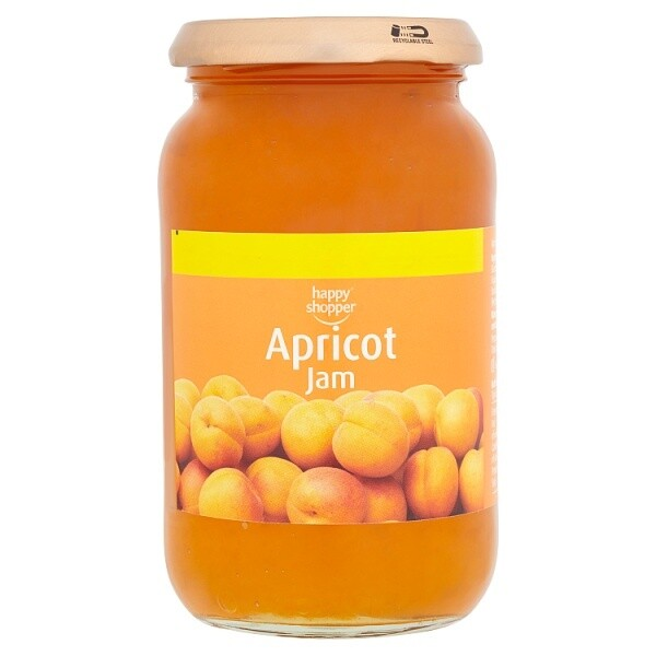 Happy Shopper Apricot Jam 454g
