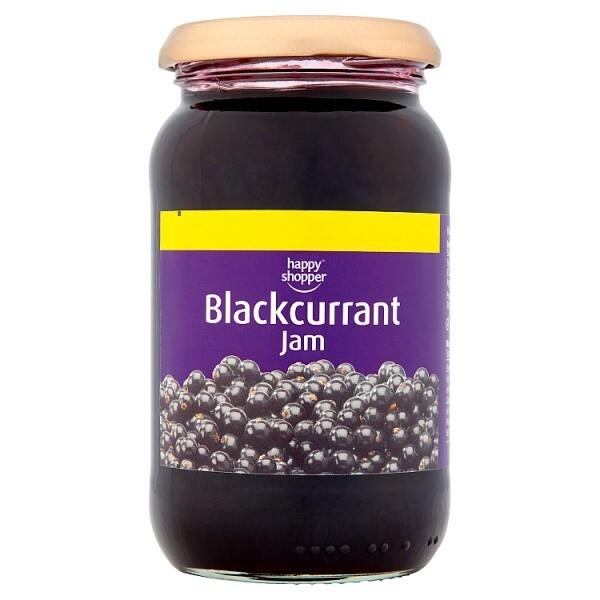 Happy Shopper Blackcurrant Jam 454g