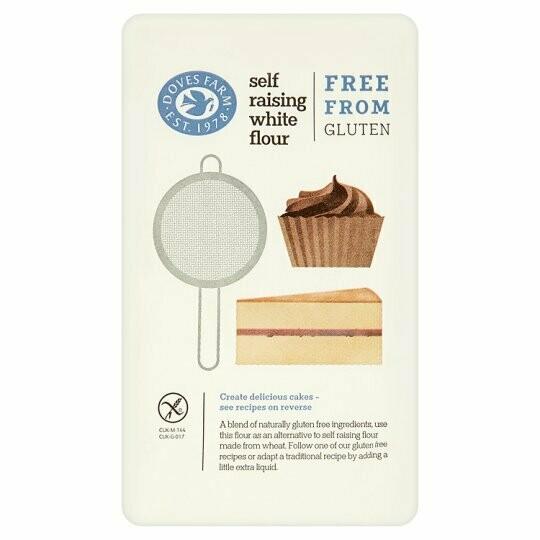 Doves Farm Self Raising White Flour Free From Gluten 1kg