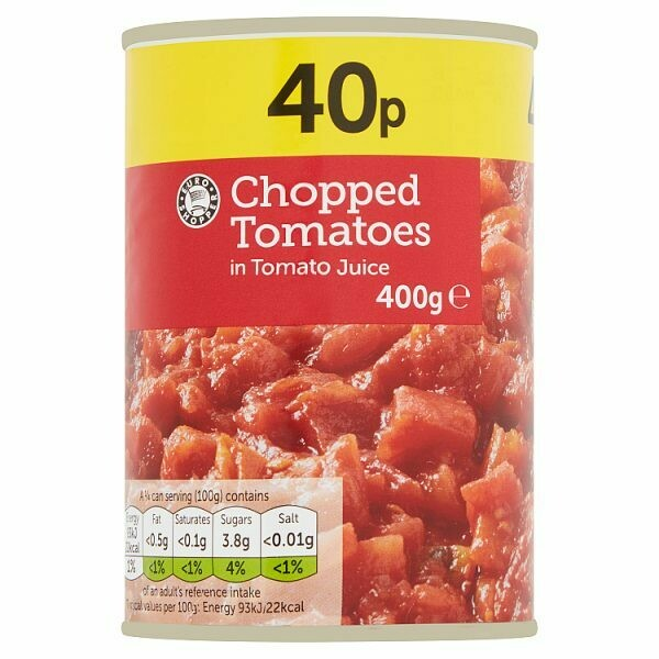 Euro Shopper Chopped Tomatoes in Tomato Juice 400g