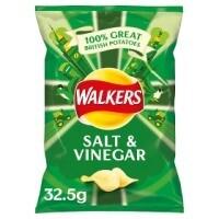 Walkers Salt and Vinegar 32x32.5g
