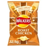 Walkers Roast Chicken 32x32.5g