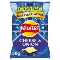 Walkers Ready Salted Grab Bags 32 x 50g