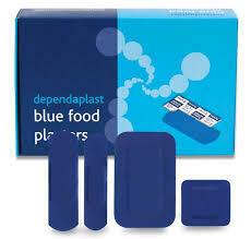 Blue Plasters 1 x 150