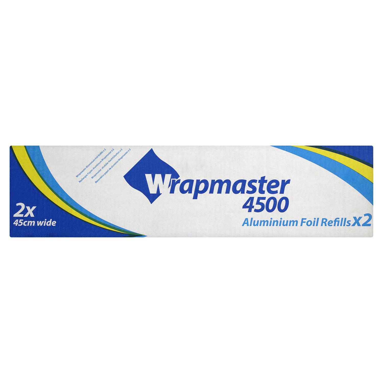 2 PACK Wrapmaster Foil Refill 2 x 45cm