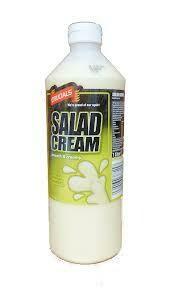 Salad Cream 1 x1Ltr