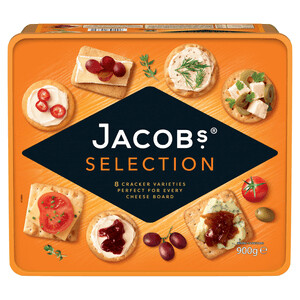 Jacob Biscuits For Cheese 1x900g