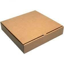 "9"" Pizza Box Brown  1x100"