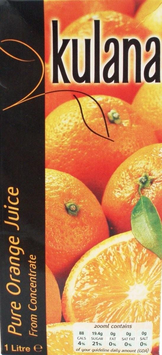Orange Juice 12x1ltr