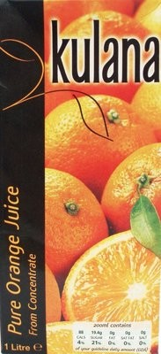 Orange Juice 12x1ltr