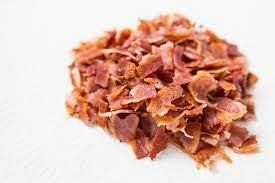 Frozen Diced Roasted Streaky Bacon 1 x 1 Kilo