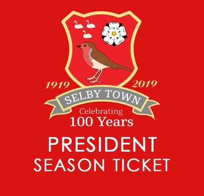 President Season Ticket 2020/21