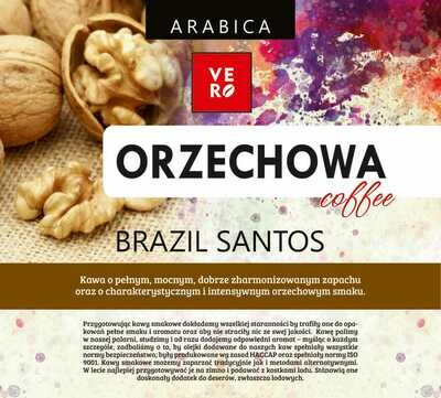 Kawa Ziarnista  Vero 100% Arabika Orzechowa
